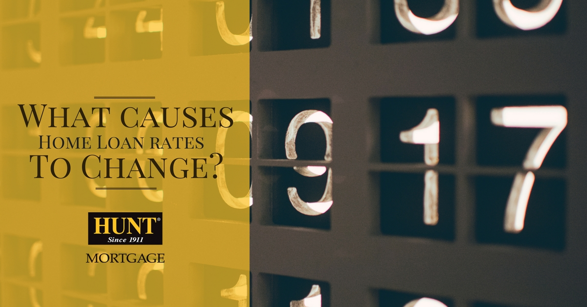 Mortgage Blog Header What Causes Home Loan Rates To Change? Image Of Flip Numbers