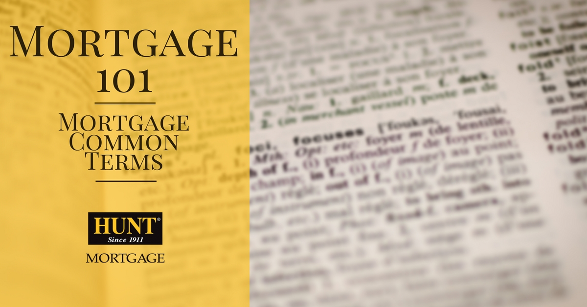 Mortgage 101 Common Terms Blog Header