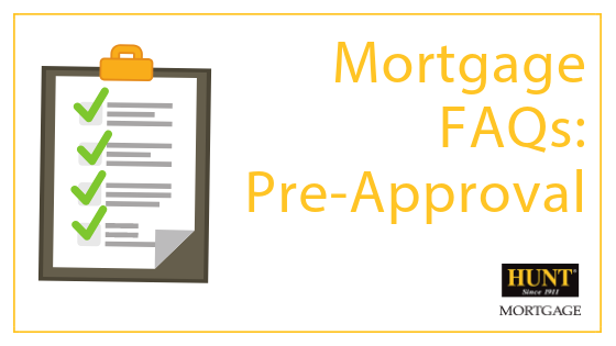 Mortgage FAQs: Pre-Approval
